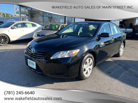 2009 Toyota Camry for sale at Wakefield Auto Sales of Main Street Inc. in Wakefield MA