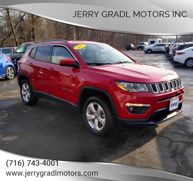 2017 Jeep Compass for sale at JERRY GRADL MOTORS INC in North Tonawanda NY