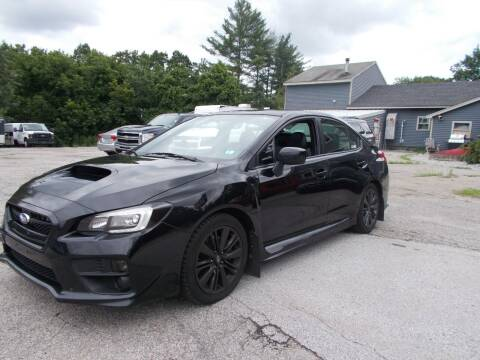 2015 Subaru WRX for sale at Manchester Motorsports in Goffstown NH