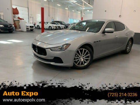 2014 Maserati Ghibli for sale at Auto Expo in Las Vegas NV
