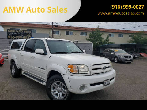 2004 Toyota Tundra for sale at AMW Auto Sales in Sacramento CA