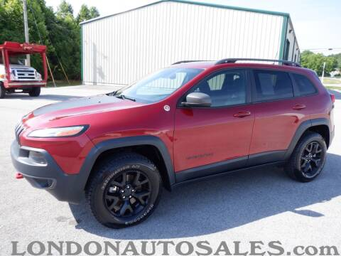 2017 Jeep Cherokee for sale at London Auto Sales LLC in London KY