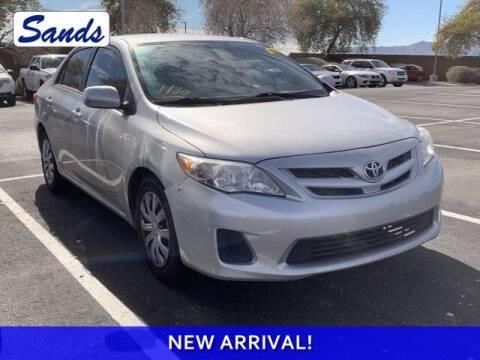 2012 Toyota Corolla for sale at Sands Chevrolet in Surprise AZ