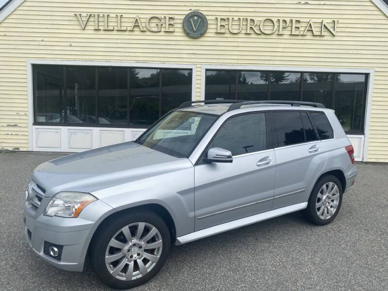 2010 Mercedes-Benz GLK for sale at Village European in Concord MA
