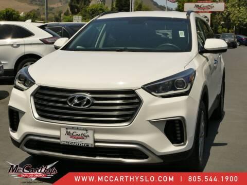 2017 Hyundai Santa Fe for sale at McCarthy Wholesale in San Luis Obispo CA
