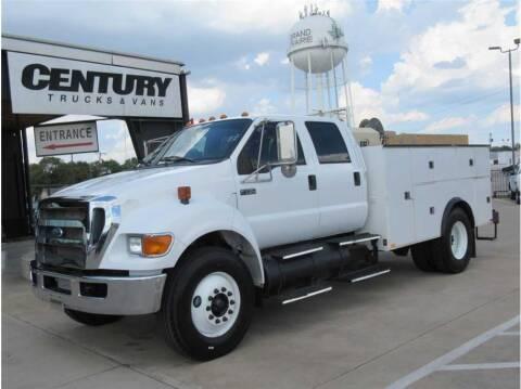 2011 Ford F-750 Super Duty for sale at CENTURY TRUCKS & VANS in Grand Prairie TX