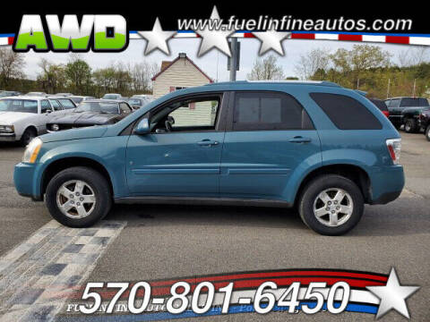 2008 Chevrolet Equinox for sale at FUELIN FINE AUTO SALES INC in Saylorsburg PA