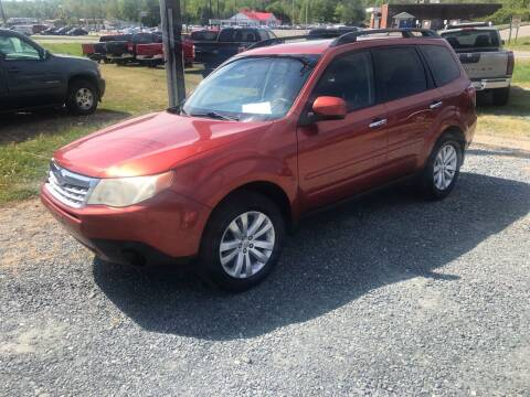 2011 Subaru Forester for sale at Clayton Auto Sales in Winston-Salem NC