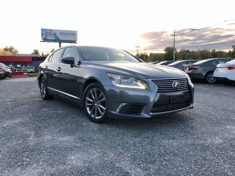 2013 Lexus LS 460 for sale at Mass Motors LLC in Worcester MA