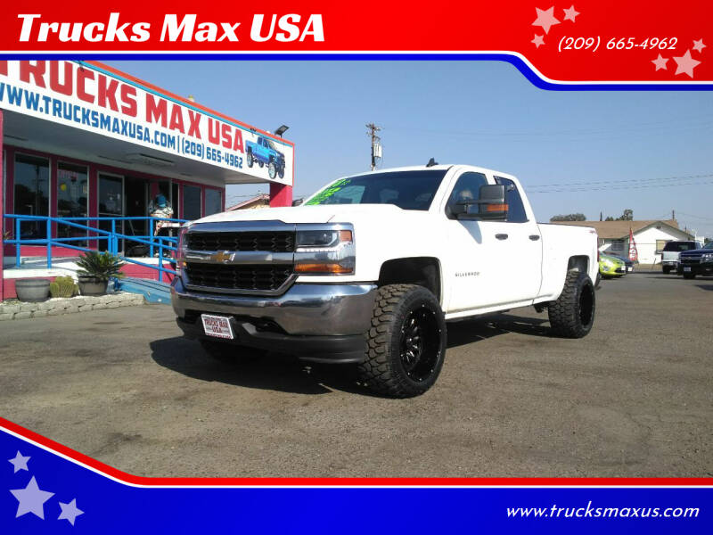 2018 Chevrolet Silverado 1500 for sale at Trucks Max USA in Manteca CA