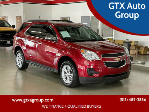 2015 Chevrolet Equinox for sale at GTX Auto Group in West Chester OH