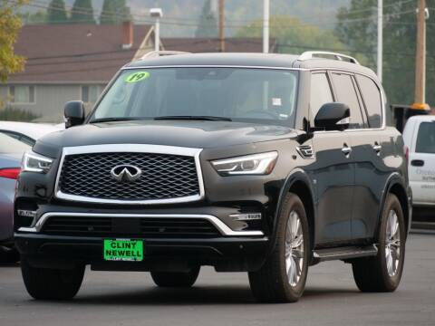 2019 Infiniti QX80 for sale at CLINT NEWELL USED CARS in Roseburg OR