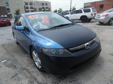 2008 Honda Civic for sale at VEST AUTO SALES in Kansas City MO