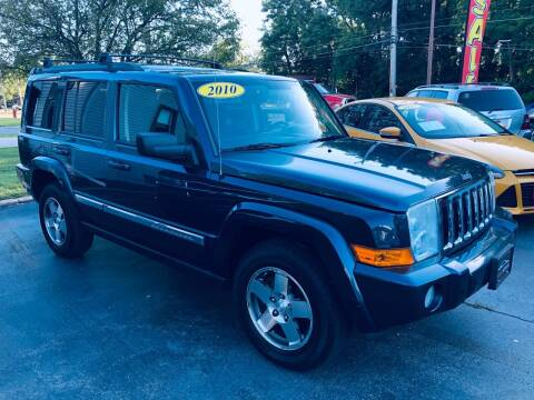 2010 Jeep Commander for sale at SHEFFIELD MOTORS INC in Kenosha WI
