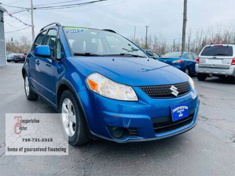 2012 Suzuki SX4 Crossover for sale at Transportation Center Of Western New York in Niagara Falls NY