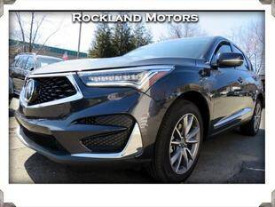 2021 Acura RDX for sale at Rockland Automall - Rockland Motors in West Nyack NY