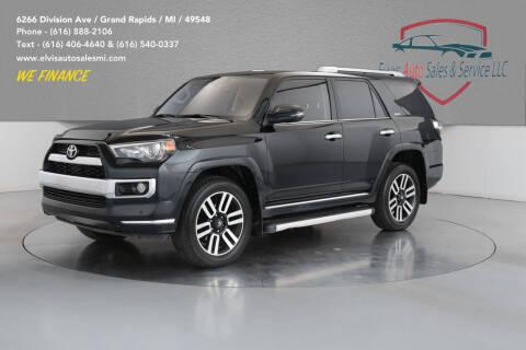 2018 Toyota 4Runner for sale at Elvis Auto Sales LLC in Grand Rapids MI