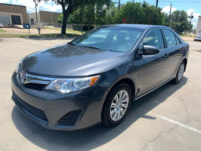 2012 Toyota Camry for sale at Vitas Car Sales in Dallas TX