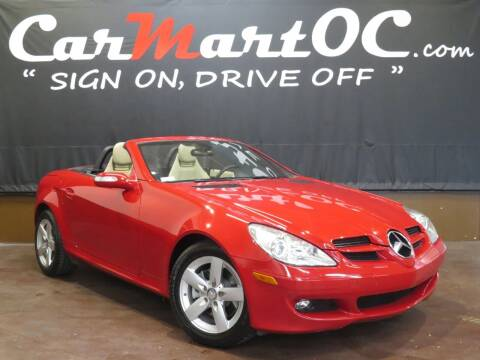 2008 Mercedes-Benz SLK for sale at CarMart OC in Costa Mesa, Orange County CA