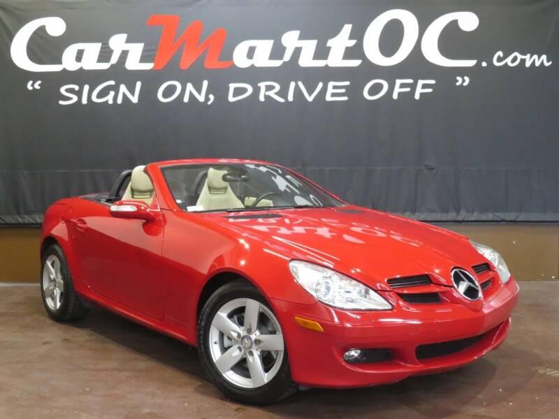 2008 Mercedes-Benz SLK for sale at CarMart OC in Costa Mesa, Orange County CA