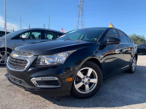 2015 Chevrolet Cruze for sale at Das Autohaus Quality Used Cars in Clearwater FL
