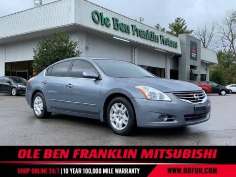 2012 Nissan Altima for sale at Ole Ben Franklin Mitsbishi in Oak Ridge TN