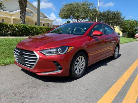2017 Hyundai Elantra for sale at GTR Motors in Davie FL