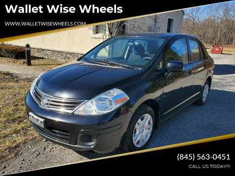 2011 Nissan Versa for sale at Wallet Wise Wheels in Montgomery NY
