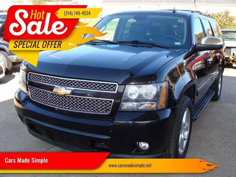 2009 Chevrolet Suburban for sale at Cars Made Simple in Union MO