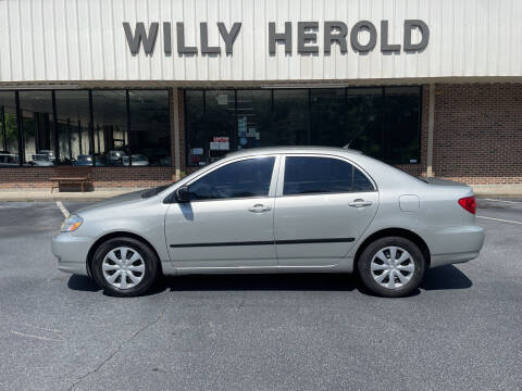 2004 Toyota Corolla for sale at Willy Herold Automotive in Columbus GA