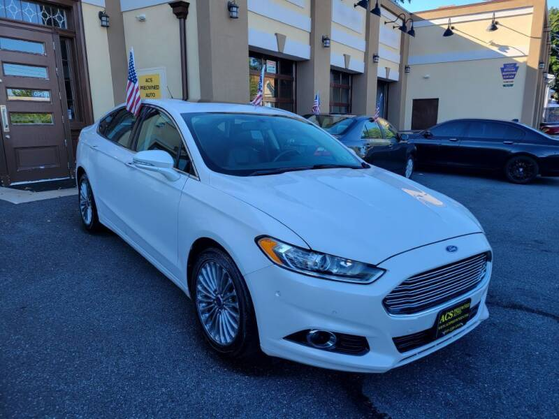 2014 Ford Fusion for sale at ACS Preowned Auto in Lansdowne PA
