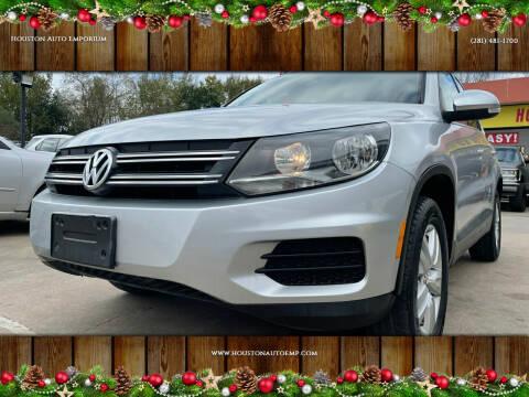 2013 Volkswagen Tiguan for sale at Houston Auto Emporium in Houston TX