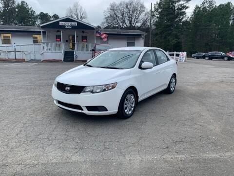 2010 Kia Forte for sale at CVC AUTO SALES in Durham NC