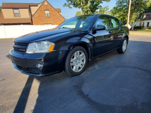 2013 Dodge Avenger for sale at Boardman Auto Exchange in Youngstown OH