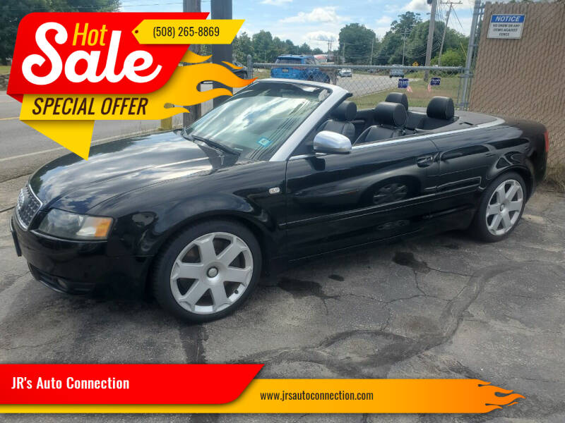 2005 Audi S4 for sale at JR's Auto Connection in Hudson NH