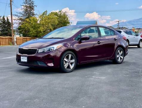 2018 Kia Forte for sale at INVICTUS MOTOR COMPANY in West Valley City UT