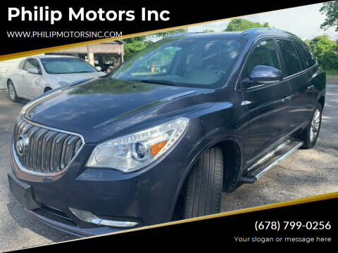2014 Buick Enclave for sale at Philip Motors Inc in Snellville GA