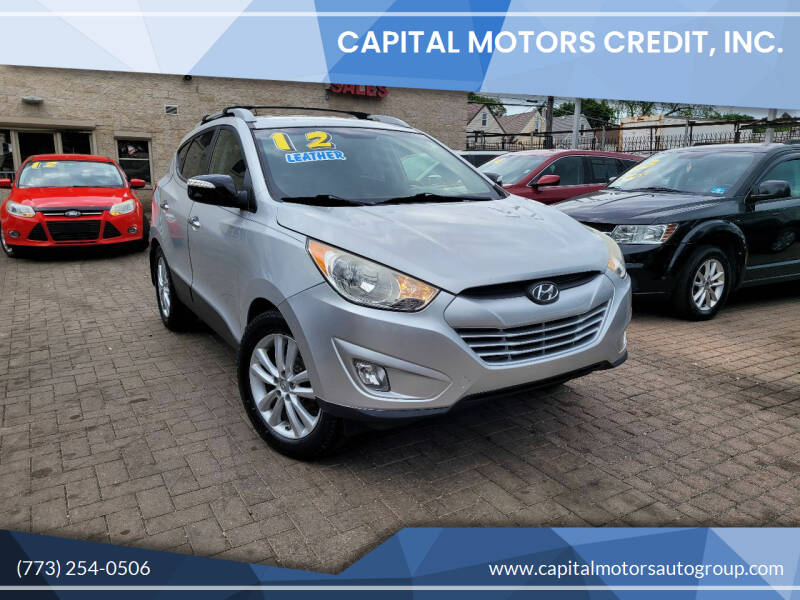 2012 Hyundai Tucson for sale at Capital Motors Credit, Inc. in Chicago IL