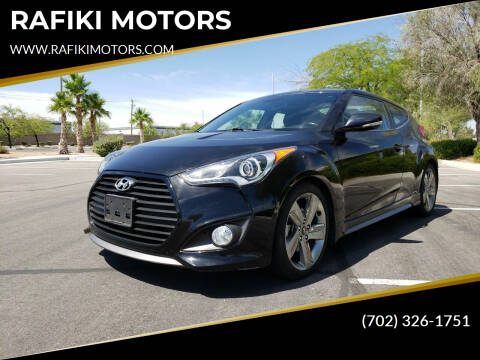 2015 Hyundai Veloster for sale at RAFIKI MOTORS in Henderson NV