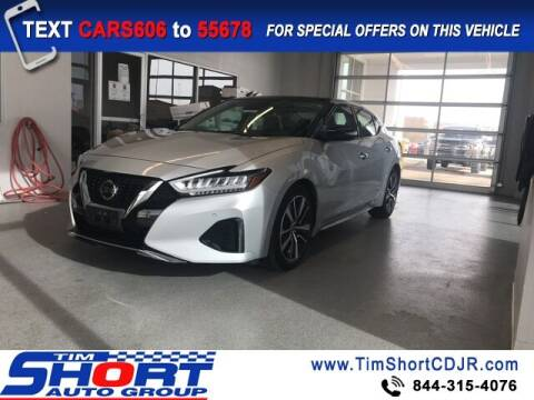 2020 Nissan Maxima for sale at Tim Short Chrysler in Morehead KY