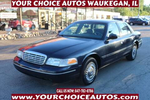 2001 Ford Crown Victoria for sale at Your Choice Autos - Waukegan in Waukegan IL