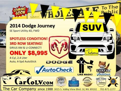 2014 Dodge Journey for sale at The Car Company in Las Vegas NV