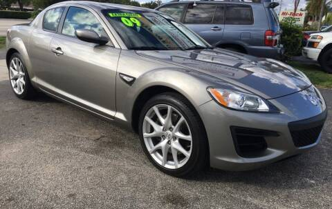 2009 Mazda RX-8 for sale at AUTO PROVIDER in Fort Lauderdale FL