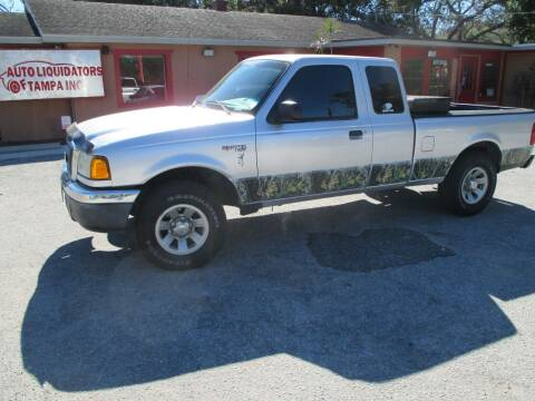 2005 Ford Ranger for sale at Auto Liquidators of Tampa in Tampa FL
