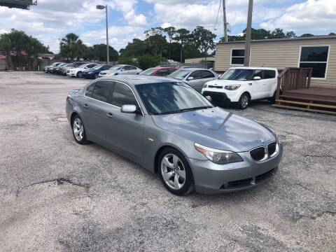 2007 BMW 5 Series for sale at Friendly Finance Auto Sales in Port Richey FL