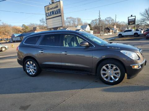 2012 Buick Enclave for sale at RIVERSIDE AUTO SALES in Sioux City IA