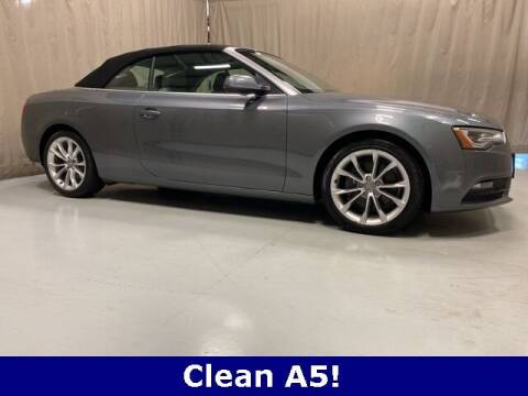 2014 Audi A5 for sale at Vorderman Imports in Fort Wayne IN