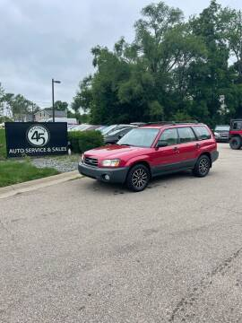2003 Subaru Forester for sale at Station 45 Auto Sales Inc in Allendale MI
