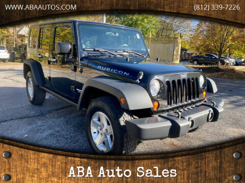 2008 Jeep Wrangler Unlimited for sale at ABA Auto Sales in Bloomington IN