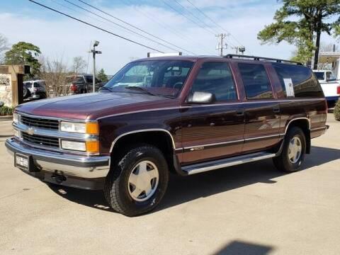 1997 Chevrolet Suburban for sale at Tyler Car  & Truck Center in Tyler TX
